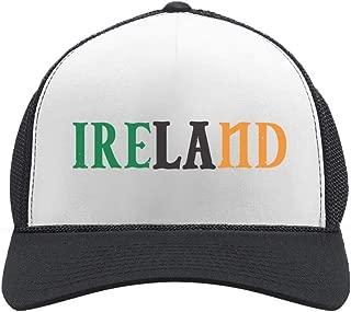 Tstars - Ireland Flag Tricolor St.Patrick's Day Trucker Hat Mesh Cap