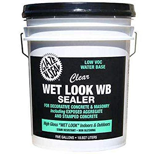 Glaze 'N Seal Clear'Wet Look' WB Sealer Gallon, 5 Gallon (174)