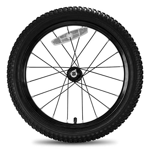 JOYSTAR 16 Inch Kids Bike Front Wheels Replacement with 16 Inch Air Rubber Tire