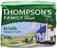Thompson's Punjana Irish Breakfast 80 Teabags (8.82 Oz) (Pack of 2) [並行輸入品]