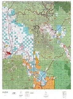 Arizona GMU 19A Hunt Area / Game Management Units (GMU) Map