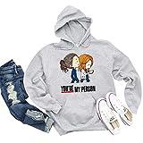 Greys Anatomy Hoodie Sweatshirt You re My Person Hoodie Sweatshirt Greys Anatomy Gift DMN t-Shirt, Hoodie Black