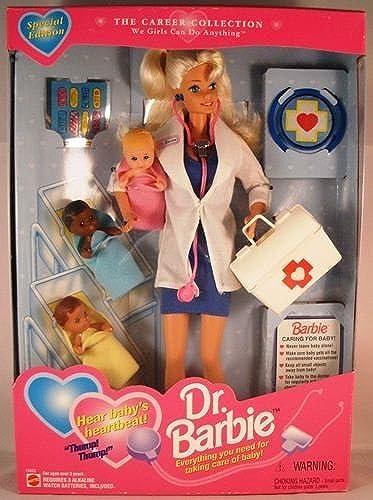salida 1995 Dr. Dr. Dr. Barbie by Mattel  100% garantía genuina de contador