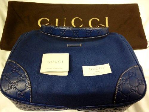 Fashion Shopping Gucci Cobalt Blue Handbag