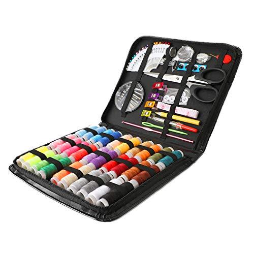 WENMWMini Sewing kit voor thuis, op reis Naaigerei, Best Gift voor volwassenen, kinderen, meisjes, Professional Naaibenodigdheden voor DIY/Nood/Beginner (Large),Set