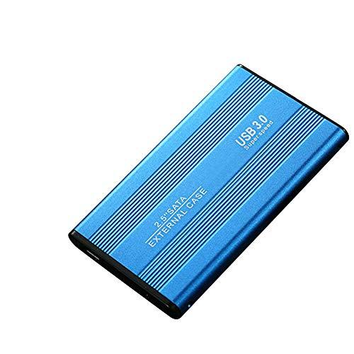 iScooter Tragbare Externe Festplatte, Externe Solid-State-Laufwerk-SSD, Mobile Festplatte, Externe Hochgeschwindigkeits-Festplatte, USB 3.0-500 GB / 1 TB / 2 TB Festplatte für PC, Laptop