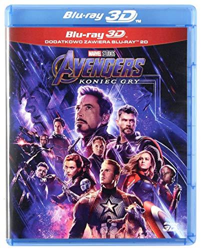 Avengers: Endgame [2Blu-Ray]+[Blu-Ray 3D] [Region Free] (Audio español. Subtítulos en español)