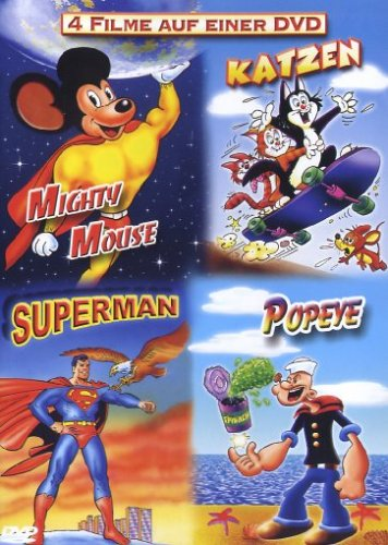 Mighty Mouse/Katzen/Superman/Popeye
