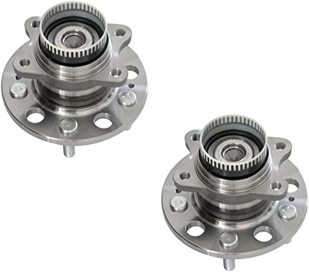 DRIVESTAR 6L8Z1109BAx2 Pair:2 New Rear Driver and Passenger wheel hub for Escape Mariner Tribute 4WD