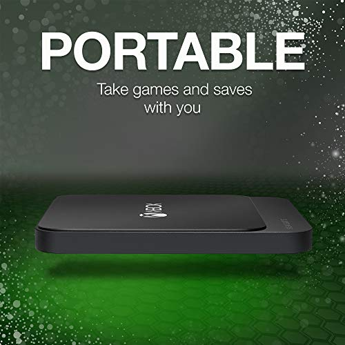 Seagate STHB1000401 - Game Drive SSD para Xbox (1TB, puerto SuperSpeed USB 3.0, ligero y resistente a impactos)