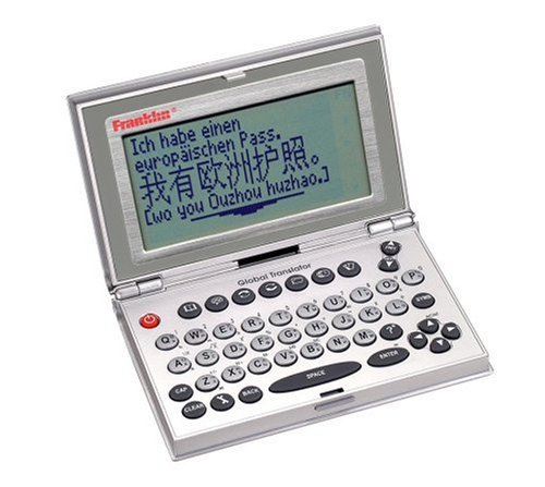 Franklin TGA-470 12 Language Translator