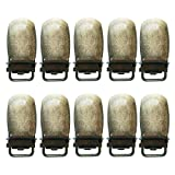 1 cm grúa de metal pesado,Biberón de Baba,Pinza de calzoncillos,Diez piezas. (Bronce.)