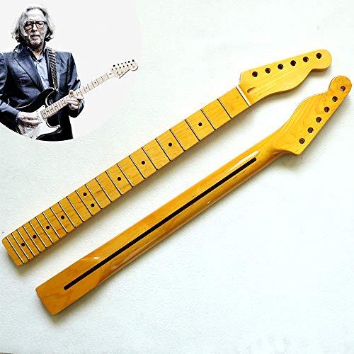 YUSDP Mástil de Guitarra de Arce, diapasón de 22 trastes, Acabado Altamente...