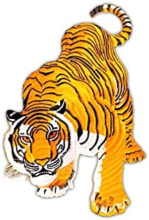 Backpatch Tiger XXL Jacket Large Back Patch Sew-on Iron-on Patches Embroidered Applique