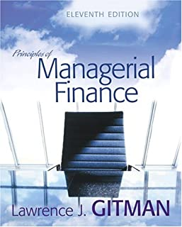 Principles of Managerial Finance: United States Edition