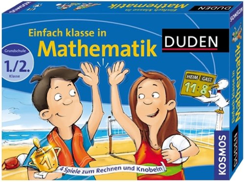 KOSMOS 698409 - Duden Lernspielsammlung Einfach klasse in Mathematik B0035RQ3A6 Innovation | Verschiedene Arten und Stile