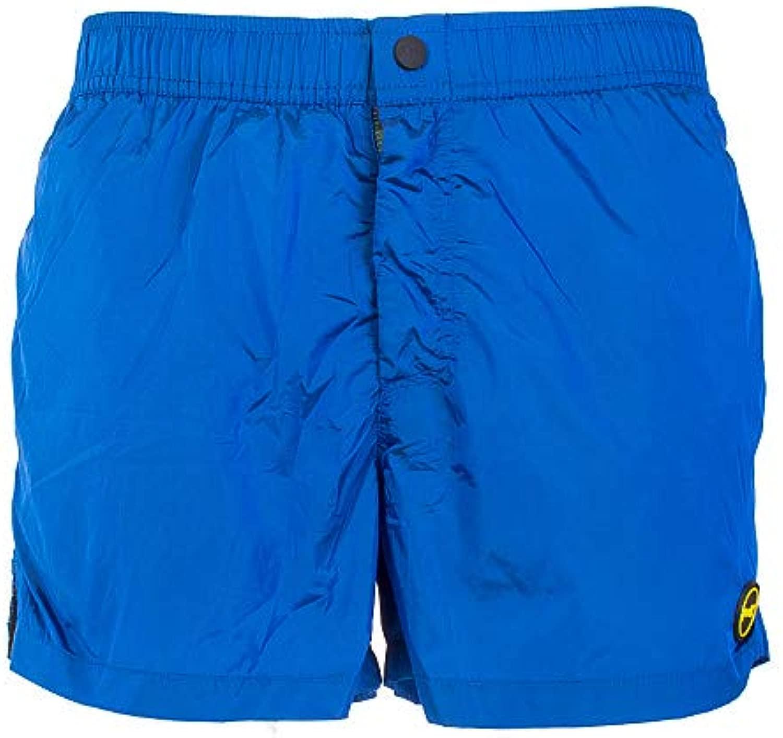 FxxK Boxer mare herren lucido Collezione SOLID Farbes Farbee Blau Royal Modello FK19-0006RY