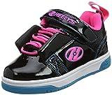 Heelys Mädchen Rift X2 Sneaker, Schwarz (Black/Neon Pink/Cyan...