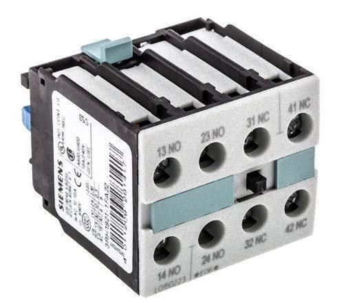 Siemens 3RH1921-1FA22 Montageblock DIN EN 50005, 4-polig, 2NO+2NC, weiß
