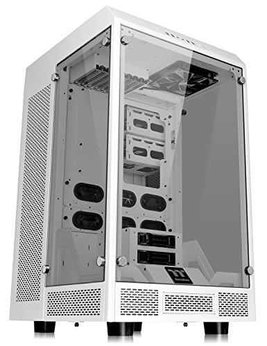 Thermaltake The Tower 900 Snow Edition Full-Tower Weiß - Computer-Gehäuse (Full-Tower, PC, Sgcc, Gehärtetes Glas, Weiß, ATX, Eatx, Micro ATX, Mini-ITX, Heimbüro)