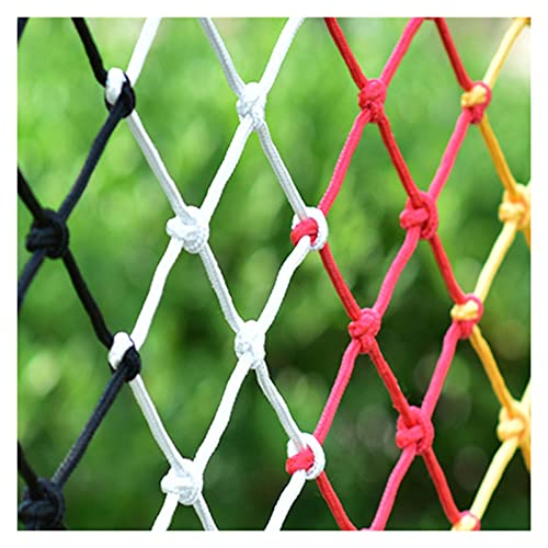 Jacquelyn Child Safety Stairs Rail Net, Baby Proofing Balcony Patios Railing Stairs Guard Mesh for Falling Toy, Nylon Rope Climbing Net for Protection (Size : 3x3M(10X10FT))