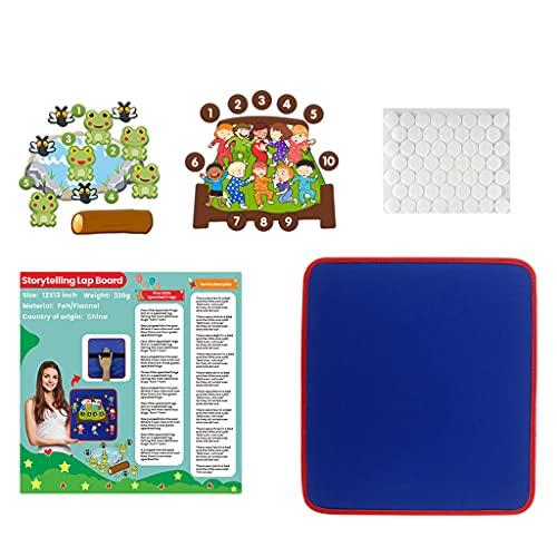 Amagogo Fieltro Storyboard Montessori Educativo Franela Storyboard Craft Regalos Accesorios para el hogar