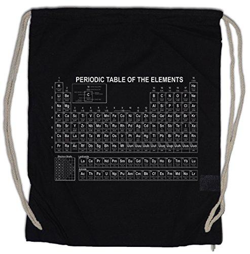Urban Backwoods Periodic Table of The Elements II Bolsa de Cuerdas con Cordón Gimnasio