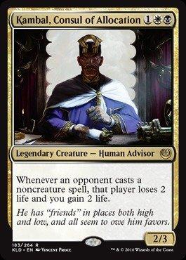 Magic The Gathering - Kambal, Consul of Allocation (183/264) - Kaladesh