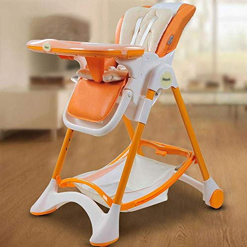 Learn More About Cute Baby Chair And Booster, Foldable Baby high Chair - preferably Leather + Stainl...