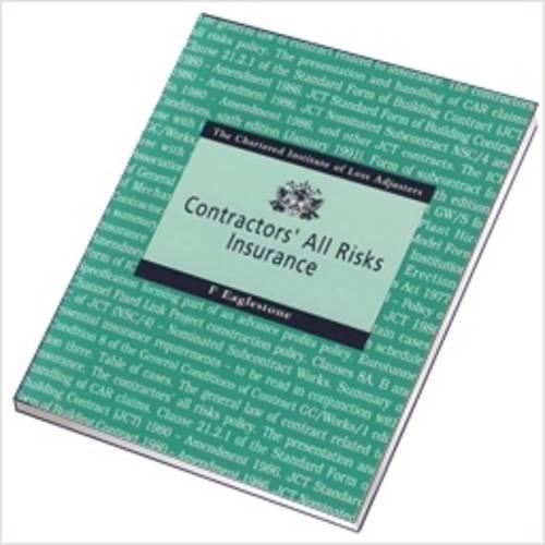 Contractors' All Risks Insurance