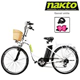 NAKTO Adult Electric Bicycles 26' Electric Bikes for 36V/10Ah/12Ah Ebikes