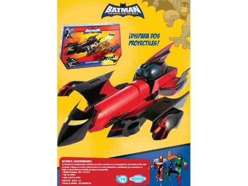 DC Mattel - N5749 - Batman - Véhicule Miniature - Batmobile Transformable B&B