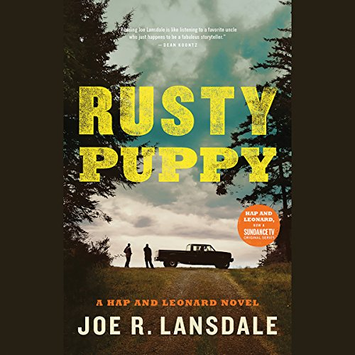 Rusty Puppy audiobook cover art