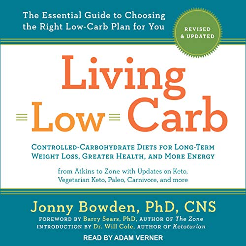 Page de couverture de Living Low Carb