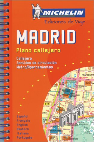 Madrid: 1:12000 (Michelin City Plans)