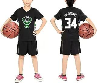 Regalos para ni/ños Chalecos y Pantalones Cortos Camisetas cl/ásicas Tela de poli/éster MJLAD Trajes de Baloncesto para ni/ños