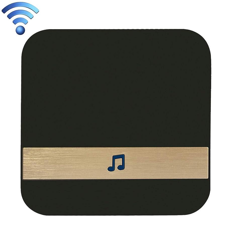 隠されたつらいモチーフM108 720P 6400mAh Smart WIFI Video Visual Doorbell B10 52チャイム110dBワイヤレスWiFiドアベルレシーバー低消費電力ホームドアツール、米国プラグ、AC 90-250V Phone Remote Monitoring&Real-time Voice Intercom (色 : Color2)