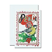クリスマスカード by アーティスト 「ジュディー」 04 平和と喜びを