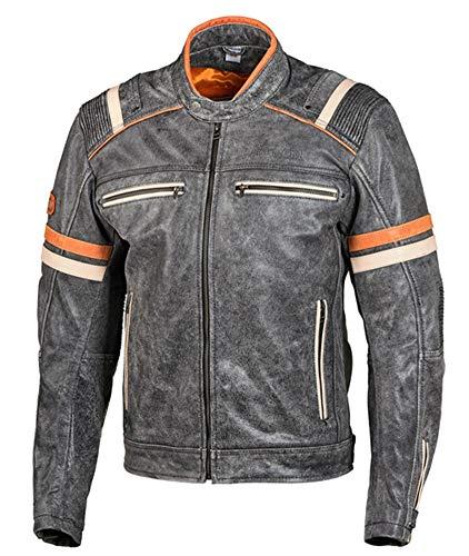 Grand Canyon Colby Herren Motorrad Lederjacke 62