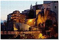BEI YU MAN.co スペインクエンカ大人のためのジグソーパズル子供1000ピース木製パズルゲームギフト用家の装飾特別な旅行のお土産