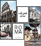 Papierschmiede® Mood-Poster Set Rom | 6 Bilder als