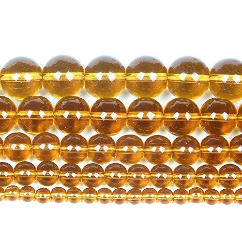 Piedra natural Lisa Color Charm Vidrio con cuentas Ronda Perlas sueltas para joyería Haciendo Pulseras de Seam Diy Strand-H7414_12mm unos 30pcs