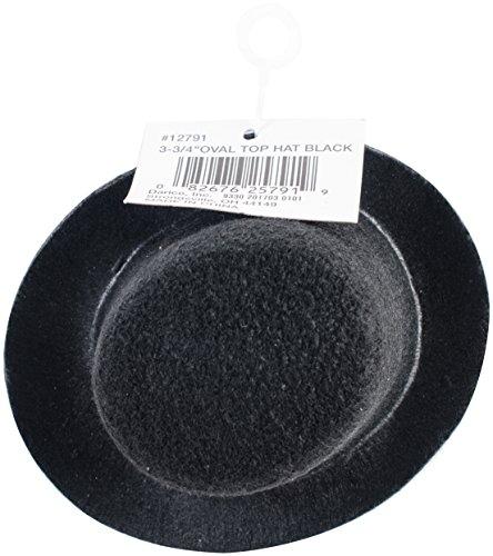 Darice Top Hat, 3.75-Inch, Black (12791)