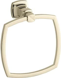 Kohler K-16254-AF Margaux Towel Ring,Vibrant French Gold
