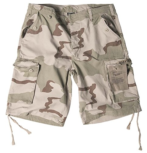 Desert paratrooper washed short 3-farben desert xl