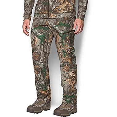 Under Armour Men's Stealth Reaper Early Season Pants, Realtree Ap-Xtra (946)/Black, 34/34