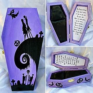 Wedding Ring Boxs - Handmade Nightmare before Christmas