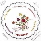 オリムパス製絲 ししゅうキット フランス刺しゅう 基本縫 8型