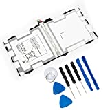 REYTRIC EB-BT800FBU/FBE Battery Compatible Samsung Galaxy Tab S 10.5 LTE Replacement SM-T800 Batteries T801 T805 T807A T807P Series Tablet with Tool Kit 3.8V 7900mAh 30.02Wh