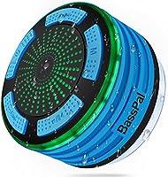 BassPal - Altavoz de Ducha, IPX7 Impermeable portátil inalámbrico Bluetooth 4.0 Altavoces con súper bajo y Sonido HD,...